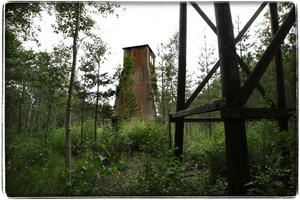 Vulcanuslaven. Den gamla trälaven i Blötberget står kvar och vårdas som byggnadsminne. Foto:Gunne Ramberg