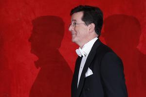 Komikern Stephen Colbert.