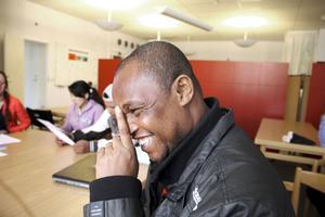 Delly Bonsange känner sig som en Ovanåkersbo till 100 procent.