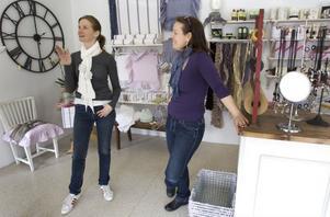 Maud Jonasson och Irene Krantz har startat en butik tillsammans.