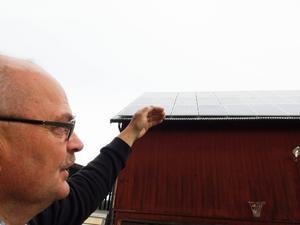 – Hela anläggningen kommer att betalas igen inom tio år, hoppas Lars Olsson i Fanbyn.