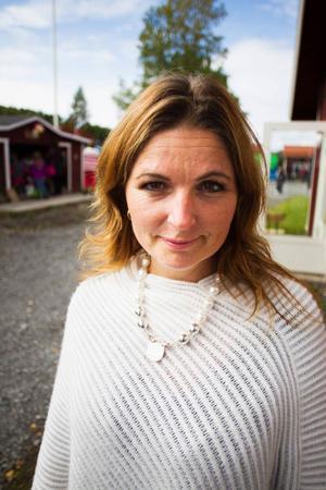 Rektor Eva-Märet Nordenberg på Böle byskola.