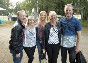 Från dansklubben Altira kom  Lars Brunnström, Helen Brunnström, Susanne Lundgren, Kicki Sundin och Roger Sundin.