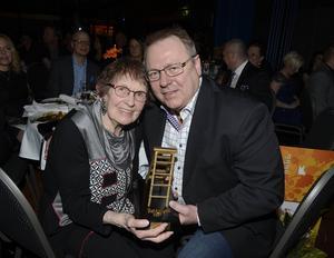 Giganternas kamp – Harriet Engström och Ulrik Forsberg var de nominerade till priset för Årets Anti Jante.