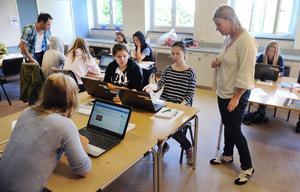 Birgitta Nordlund är en av fyra ägare till Nytorps hästgymnasium.