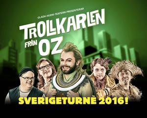 Affischen för Trollkarlen från Oz.