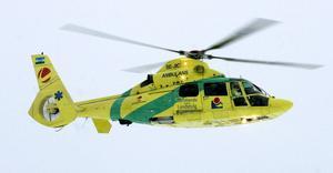 Ambulanshelikopter till Sollefteå?