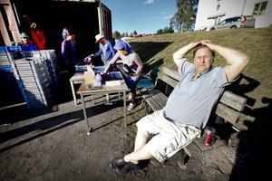 ÖP besökte Ulf Eliasson och bärplockarna han anställt 2013.