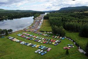 Musik Och Motorfestival Frodas I Solsken