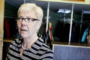 Inger Breil håller reda på resultaten.
