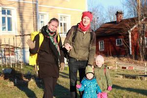 Lämnar Sverige. Familjen Båvner lämnade Sverige på obestämd tid tidigare i år. Foto: Privat