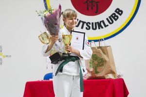 Engla Marander, 16, blev årets Ju-Jutsuka.