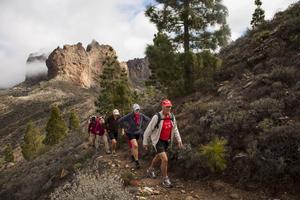 Majoriteten som upptäckt Gran Canarias fina vandring är 50-plusare.