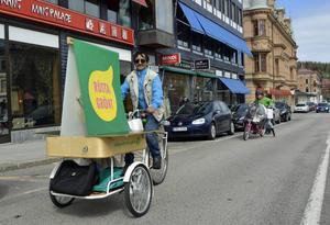 Miljöpartiets gruppledare Angel Villaverde vill att Sundsvall ska bli Norrlands bästa cykelstad.