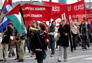 Det blir inga demonstrationståg på första maj i år på grund av coronan.