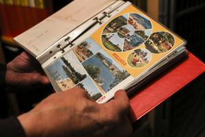 Under alla de sextio år som Lars Viklund och han företrädare åkte runt och dokumenterade länet var det ett och samma italienska tryckeri som tillverkade vykorten.