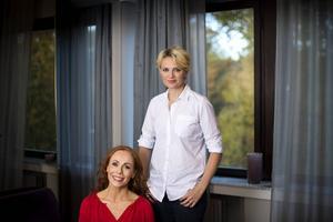 Rachel Mohlin och Josephine Bornebusch hoppas att