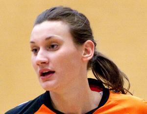 Malin Wikström blev fyramålsskytt.
