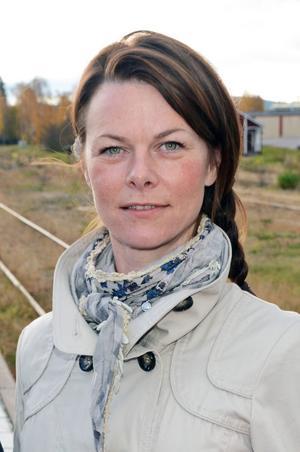 Christin Löfstrand, vänsterns toppnamn i Malung-Sälen.