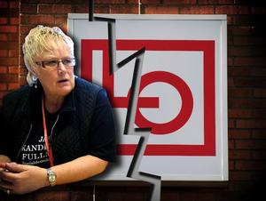 Spricka inom LO Borlänge. Ordförande Doris Brodén är övertygad om att någon vill ha bort henne från ordförandeposten.
