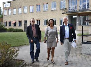 Sommaren 2017 presenterades integrationsprojektet All in där Hällefors kommun är initiativtagare och projektägare. Drivande i starten var Hans Karlsson, Christina Johansson (M) och kommunchef Tommy Henningsson.