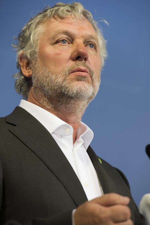 Bostads- och digitaliseringsminister Peter Eriksson (MP).