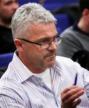 Peter Björk, ordförande Ludvika FK