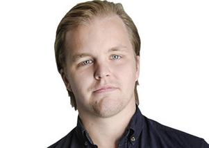 Bandypuls redaktör Christoffer Million.