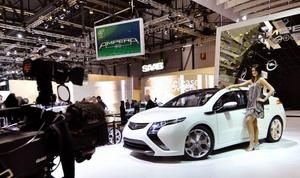Den omtalade laddhybriden Chevrolet Volt kommer i en europeisk version som Opel Ampera.
