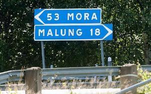 18 kilometer till nästa butik i Malung Foto: Mikael Forslund