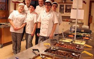 Skolrestaurangen Kungsklockan kan vinna priset för Bästa matglädjeskola.
