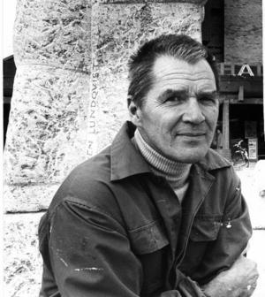 Kraften från Storvik.Sven Lundqvist, porträtterad på 70-talet.