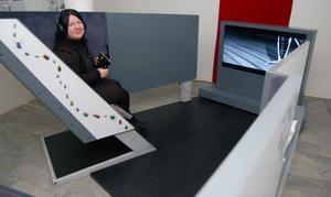 Imola Mokos visar hur den mobila möbeln