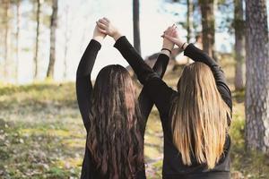 Det är jag (Joanna) och en utav mina bästa vänner Alicia Saranpää!