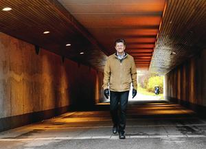 Claes Rogander, planarkitekt på Sundsvalls kommun. Bild:  Fredrik Söderberg