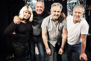 Ulrika Hollsten, Lars Fille Strömqvist, Göran Ericsson och Bengt Larsson bildar tillsammans Garvsyra. Revyn