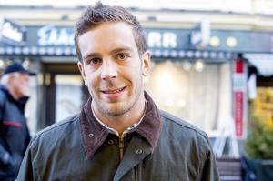 Henrik Johansson, Linköping:– Jag är student så det är svårt, kan jag så går jag nog och äter middag.