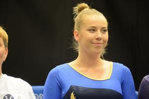 Louise H Lundblad fick med sig tre medaljer från SM.