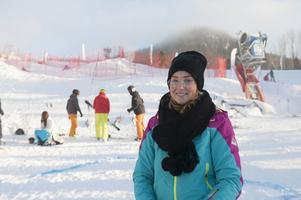Mathilda Aronsson, koordinator för projektet och jobbar på eventbyrån Le Pacte i Stockholm.