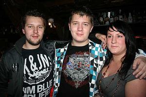 Konrad. Mattias, Markus och Maria