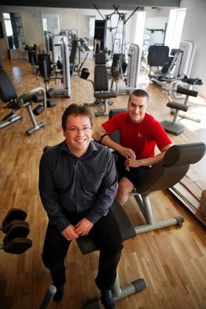 Ett hypermodernt träningsmecka öppnas i Järpen i helgen. Kent Andersson står bakom Norrgym och Thomas Berglöf har hjälpt till att utforma det.