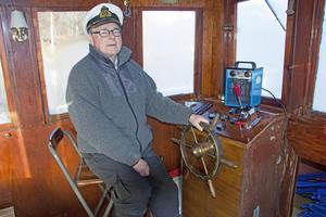 Göran Norström av agerat kapten på M/S Elise II i 16 år. Nu är det dags för någon annan att ta över rodret.