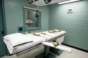 Flera långa och plågsamma avrättningar i USA har fört upp frågan om dödsstraff på agendan igen.  Här dödskammaren i Huntsville, Texas.