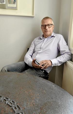 Bengt Storbacka, ordförande för S Lindesbergs kommun.
