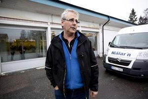 Christer Westerlund har köpt gamla Norrhallen och flytta nu sin verksamhet dit.
