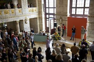 """Martina Montelius regisserar sin egen helt nyskrivna pjäs """"Mira går genom rummen"""" på Unga Dramaten.Foto: Fredrik Sandberg/Scanpix"""