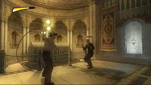 action. Ett spel som går  i sann Tomb Raider-anda.