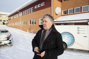 Fastighetschefen Mats Hedman kritisk mot Securitas som var dit och stängde en dörr utan att titta in i lokalerna.