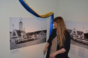Maggis Frisk visar bilder från Länsutställningen 1916.