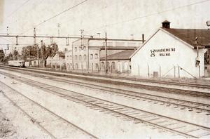 SJ:s huvudverkstad 1981. Bild Göte Nyman